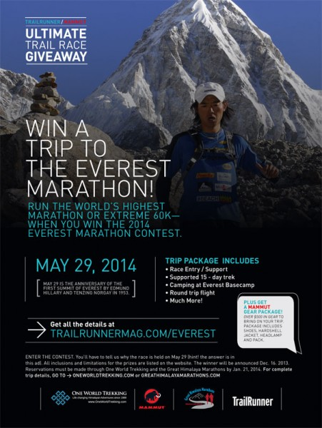 Trailrunner Magazine - Everest Marathon Contest