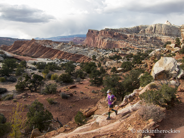 Fryingpan Trail, capitol reef running