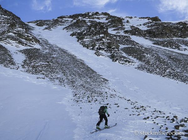 ski 14ers, castle peak