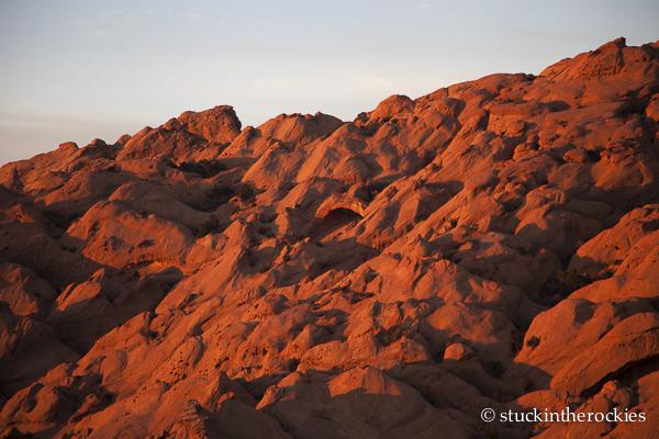 Wingate Sandstone, capitol reef, waterpocket fold, muley twist canyon, desert sunrise