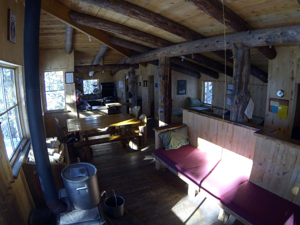 Fabi Hut, Benedict Hut, 10th Mtn Huts