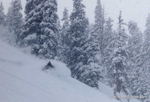 Tim Mutrie in Highland Bowl