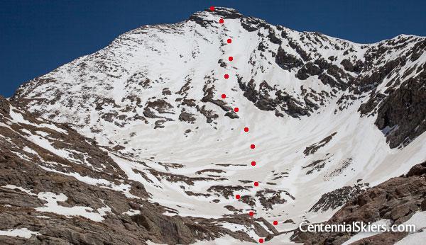 Mount Adams ski descent