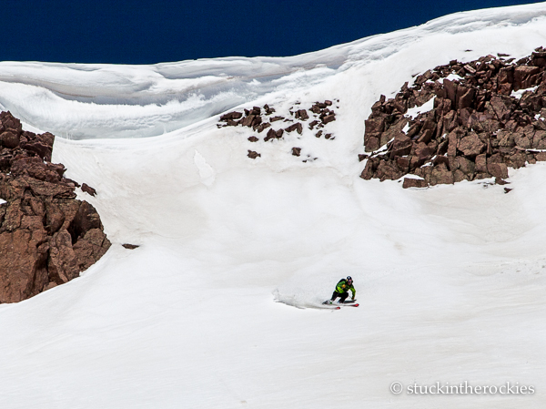 Dav, off the summit.