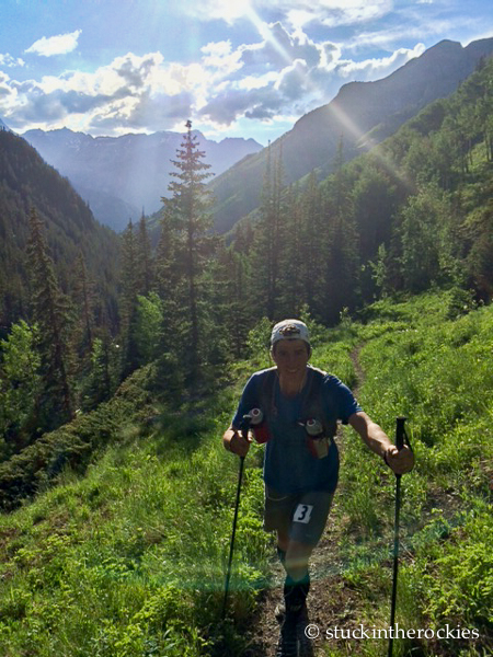 bear creek in the hardrock 100