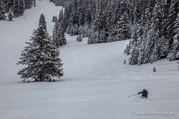 christy mahon backcountry skiing