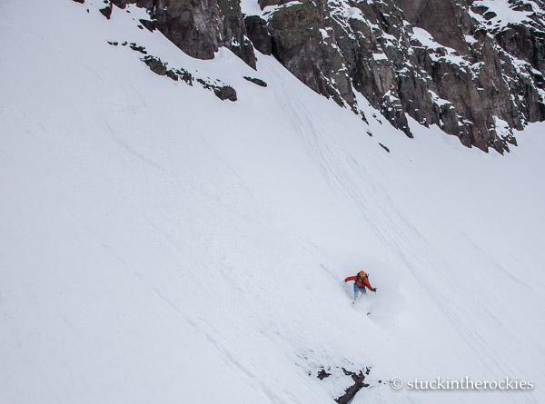 Joey Giampaolo on Potosi peak