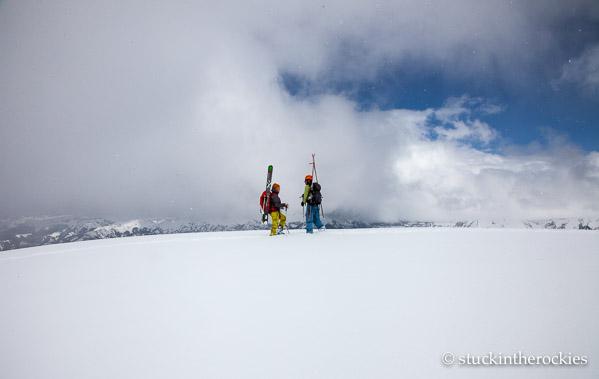 Potosi Peak's summit