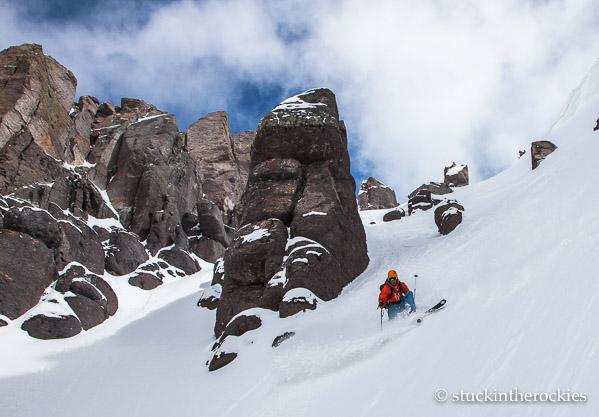 North Couloir of Potosi Peak