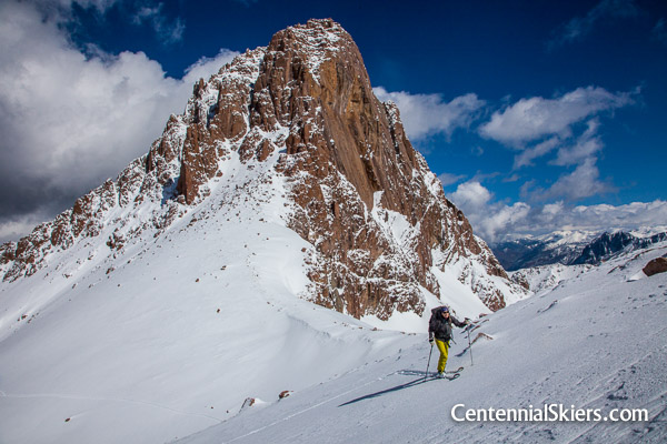 Pigeon Peak with Christy Mahon and Centennial Skiers