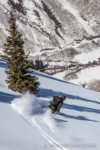 Greg Ernst, Aspen Hoghlands backcountry
