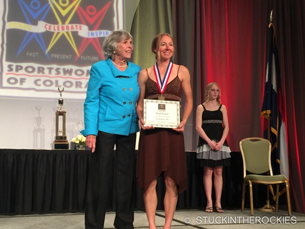 Megan Kimmel, 2015 Sportswomen of the Year Nominee for Trail Running