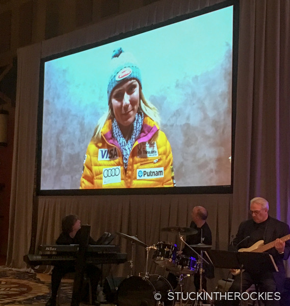Mikaela Shiffrin, 2015 Colorado Sportswoman of the Year