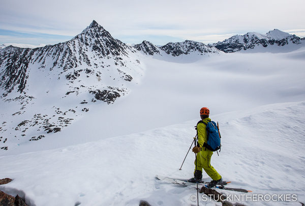 Penn Newhard in the Northen Lyngen Alps