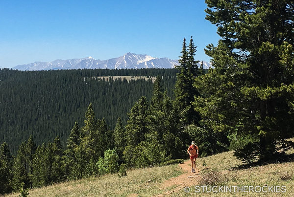 Running the Buffalo Peaks Loop