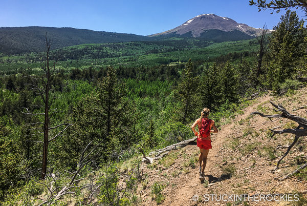 Running the Buffalo Peaks Wilderness