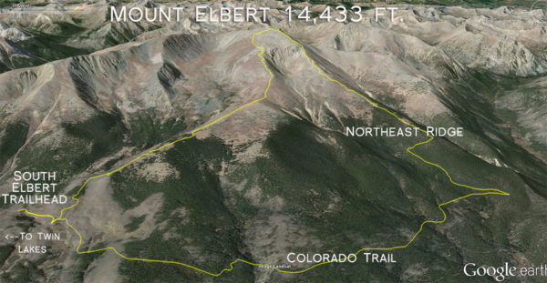 Mount Elbert Loop Run