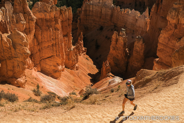Trailrunning in Bryce Canyon National Park