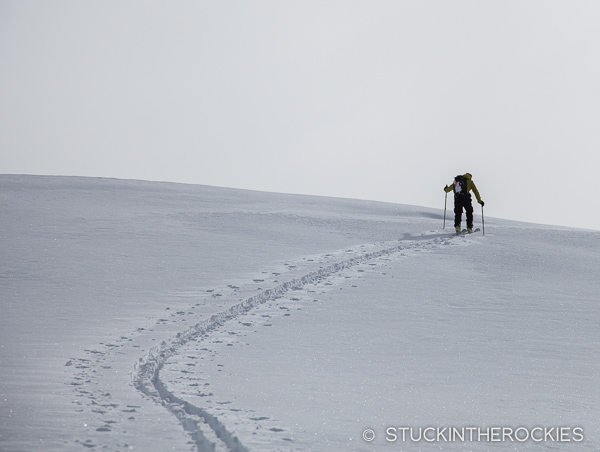 backcountry skinning
