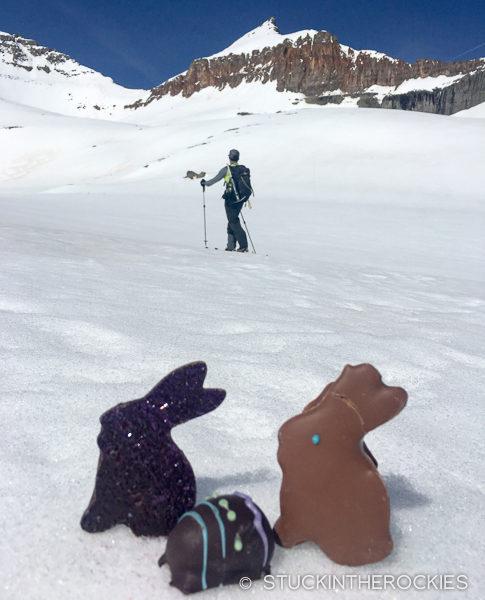 Skiing Golden Horn Peak
