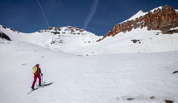 Approaching Vermillion Peak
