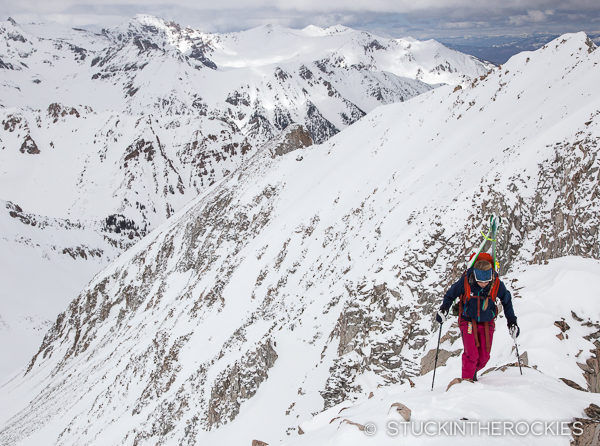 Climbing Star Peak