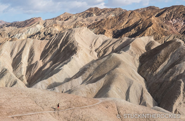 Trailrunning in Death Valley National Park