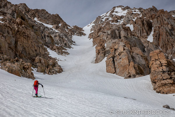 Mount Langley Northeast Couloir