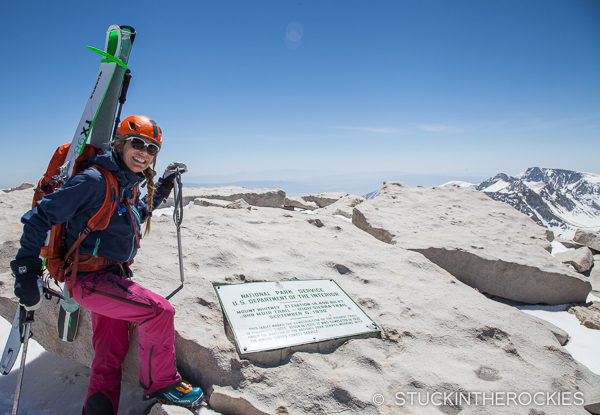 Summit of Mount Whitney