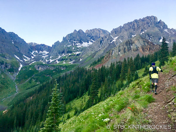 Grant-Swamp Pass in the Hardrock 100