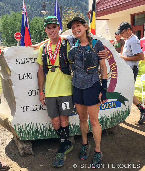 Ted and Christy Mahon at Hardrock 100