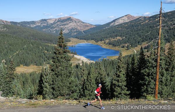 Running at Betty Bear Hut on the Hut Run Hut