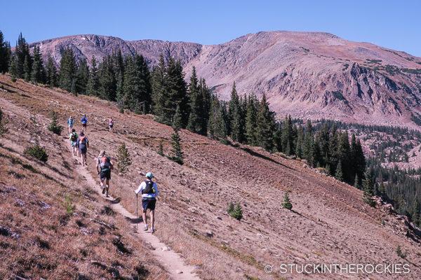 the Hut Run Hut tour to tenth mountain division hut