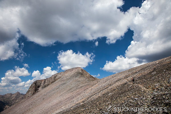Climbing Mount Oso