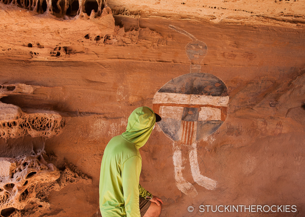 All American Man petroglyph