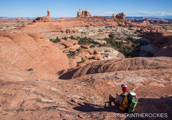 Backpacking in the Needles District of Canyonlands National Park