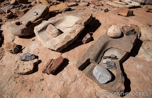 Ancient ruins in Salt Creek, Canyonlands National Park