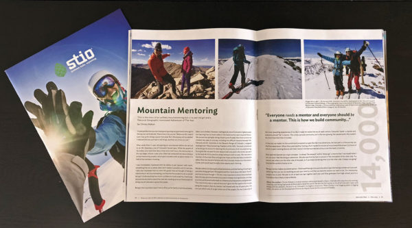Christy Mahon and Elsie Weiss mentorship story in the Stio catalog