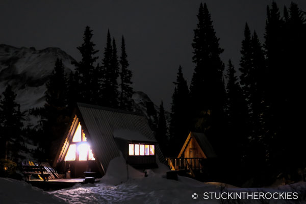 Tagert Hut, Christmas Eve