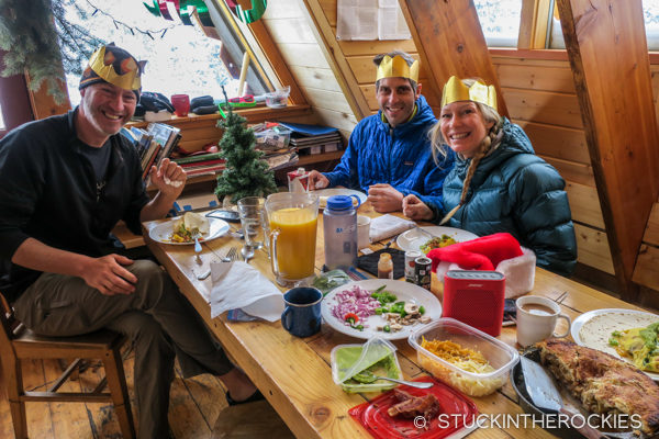 Breakfast at Tagert Hut
