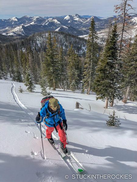 Skinning Hahn's Peak