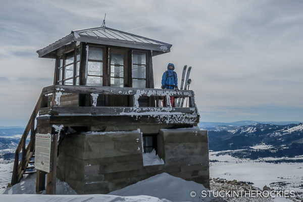 Hahn's Peak fire lookout