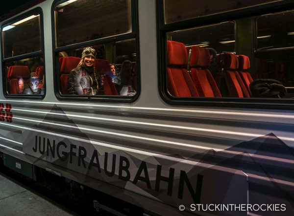 On the Jungfraubahn