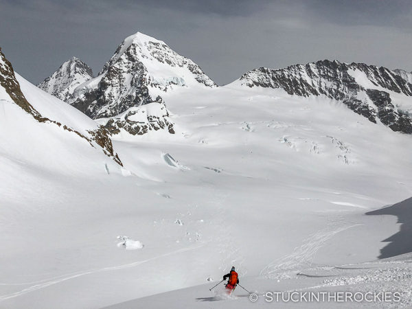 Skiing the Jungfrau