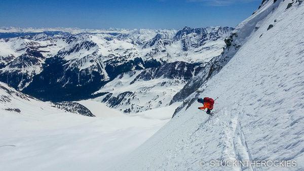 Skiing Snowmass Mountain