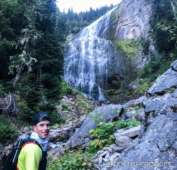Spray Falls on the Wonderland Trail