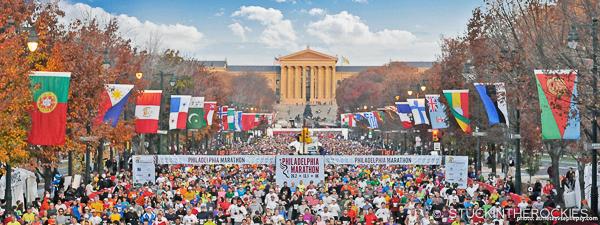 The 2018 Philadelphia Marathon