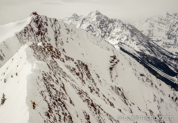 Sean Shean on Highlands Ridge