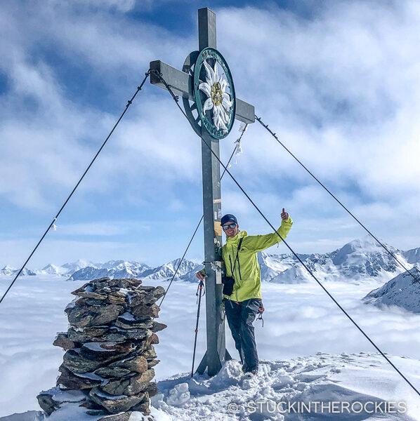 Guslarspitze summit