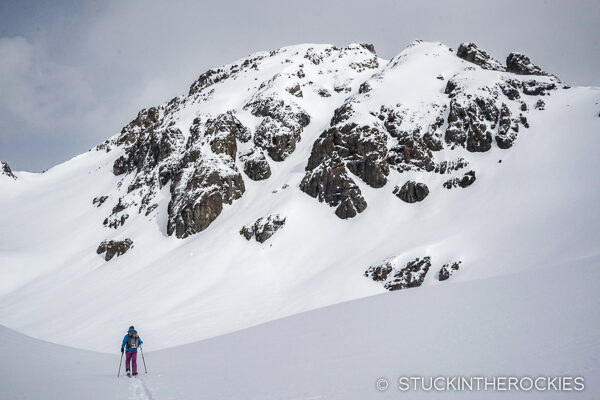 Ski touring in the San Juans with Aspen Custom Vans